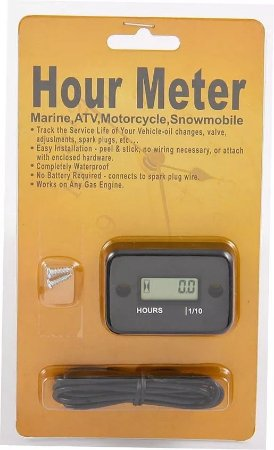 Horímetro para motor de popa