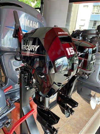 Motor de popa Mercury 15hp 4 tempos injeção eletrônica