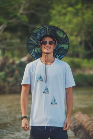 Chapéu de Palha Unissex Garopaba