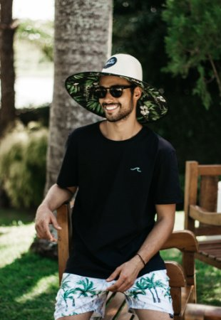 Chapéu de Palha Unissex Noronha