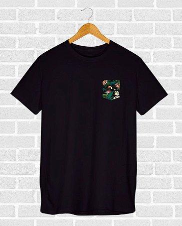 Camiseta Kangaroo Preta