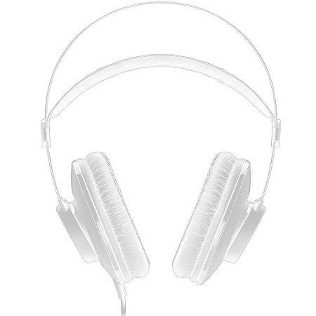 Fone de ouvido Headphone Profissional AKG, com Fio, Preto - K52