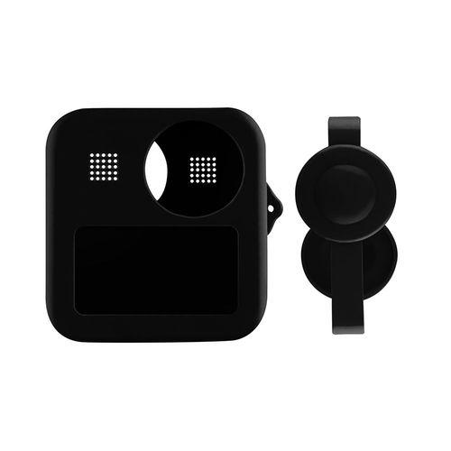 Case de Silicone Telesin para GoPro MAX 360 + Tampas para Lentes (GP-PTC-MAX)