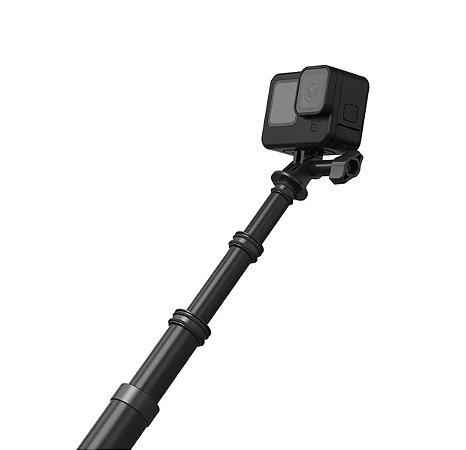 Bastão Pau de selfie Telesin fibra de carbono 2,70m p/ GoPro (GP-MNP-270)