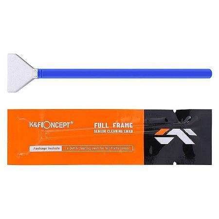 Kit 5x Haste Cotonete Pincel Limpeza Sensor APS-C 16mm K&F CK03