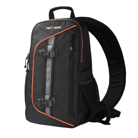 Mochila K&F Concept Sling DSLR Camera Backpack 12L, Preta (KF13.050)