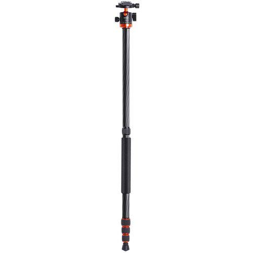 Tripé K&F Concept SA225C1 Professional Fibra de carbono + Monopé  09094