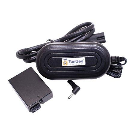 Adaptador Fonte Dummy Battery TanGee Para Baterias Canon LP-E8