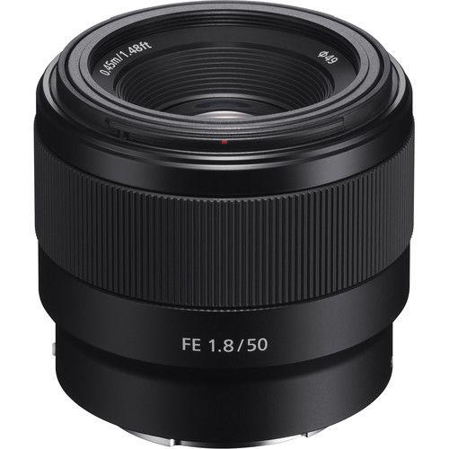 Lente Sony FE 50mm F1.8 E-Mount SEL50F18F