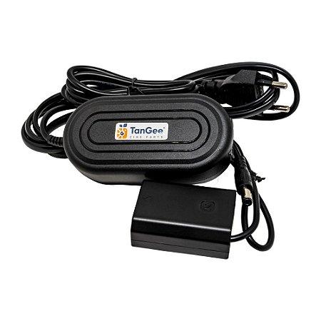 DummyBattery TanGee P/ baterias Sony NP-FZ100 Adaptador Fonte
