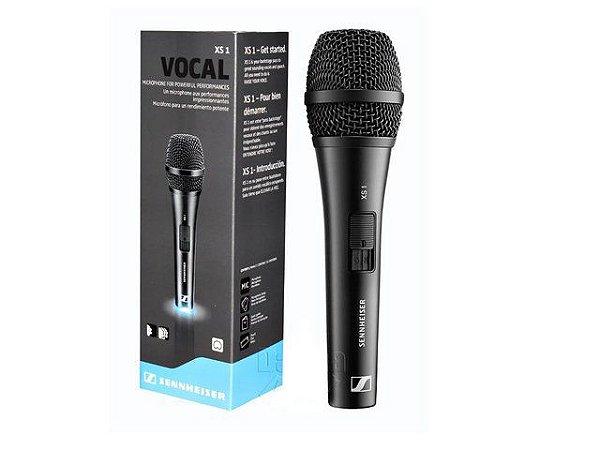 Microfone de mão Cardioide Xs1 Sennheiser XLR