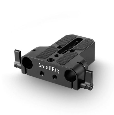 Baseplate SmallRig com furo duplo 15mm Rod Clamp 1674