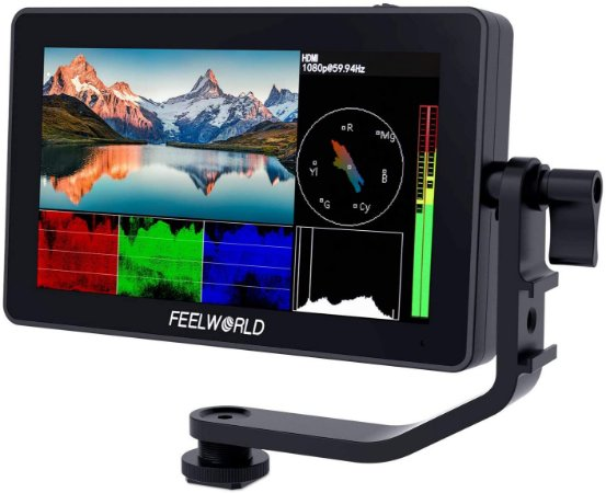 """Monitor FeelWorld F6 PLUS 5.5"""" 4K Touch Screen (LUT)"""