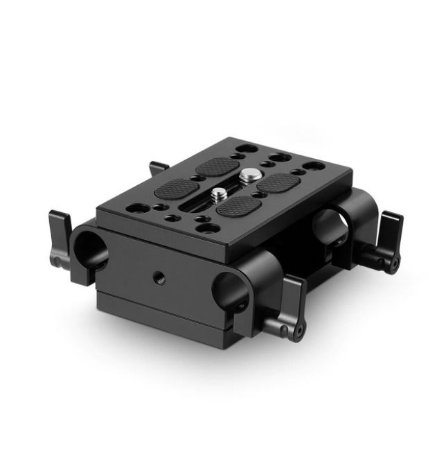 Base Plate SmallRig com braçadeira dupla de 15 mm 1798