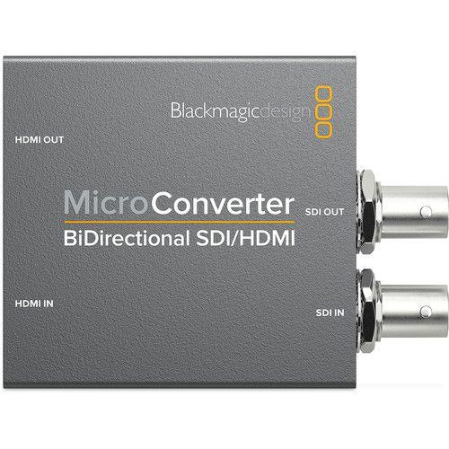 Conversor Blackmagic Micro Converter BiDirect SDI/HDMI C/ Fonte