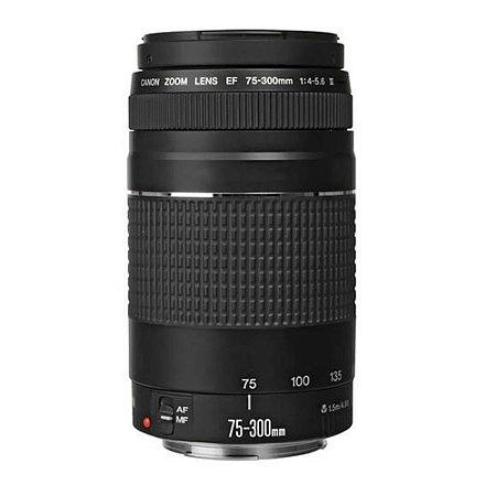 Lente Canon EF 75-300mm F/4-5.6 III Zoom