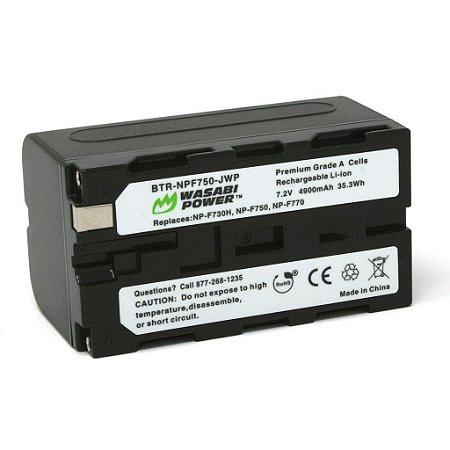 Bateria Wasabi Sony F970 F770 f750 F570 F330 4900mAh NP-F Blackmagic