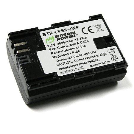 Bateria Canon LP-E6 Wasabi Power