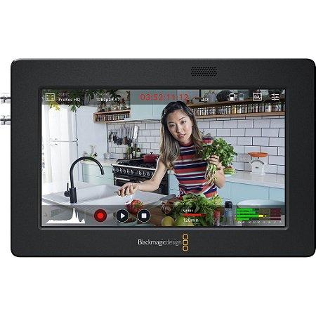 """Blackmagic Video Assist 3G-SDI/HDMI 5"""" Monitor/Gravador"""