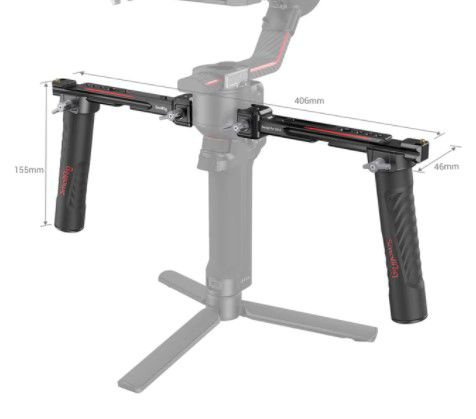 SmallRig Dual Handle Handgrip P/ DJI Ronin RS 2/RSC 2 3027