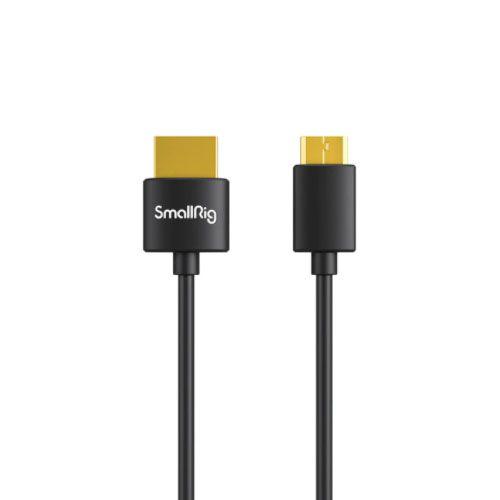 SmallRig Cabo Ultra Slim Fino 4K HDMI (Mini HDMI para HDMI) 35cm 3040