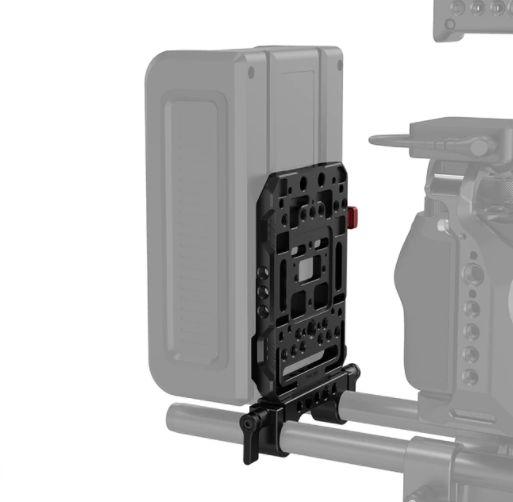 SmallRig Plate para bateria V Mount com braçadeira Rod Clamp 15mm 3016
