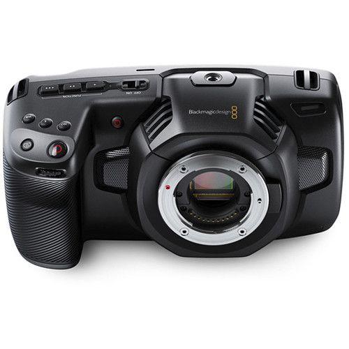Câmera Blackmagic Design Pocket Cinema 4K MFT (Corpo)