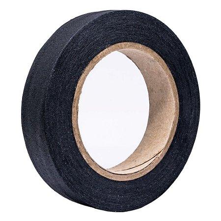Fita de Tecido Gaffer Tape 24mm x 25m Preta - RapiFix
