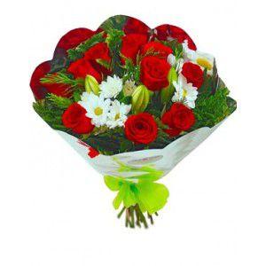 Ramo de Flores de 10 Rosas