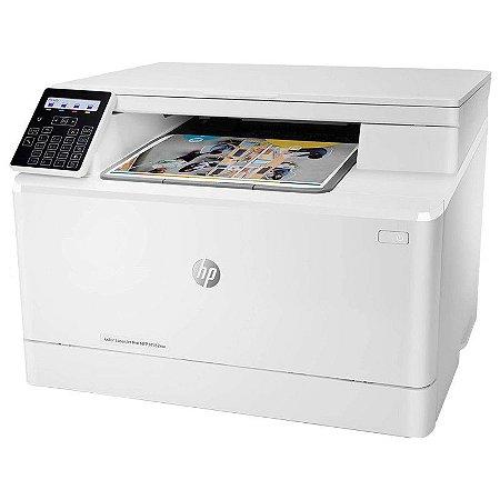 Impressora Hp Multifuncional A Cor Laserjet Pro M182nw 220v