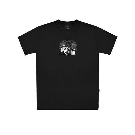 Camiseta Plano C Stealing Money Preta