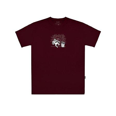 Camiseta Plano C Stealing Money Bordo