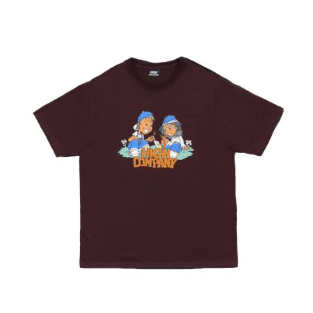 Camiseta High Menace Marrom