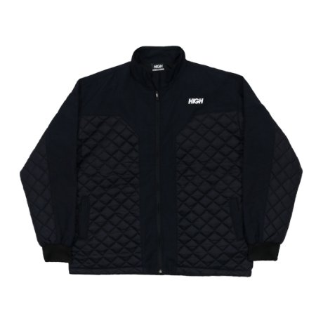 Jaqueta High Quilted Logo Black