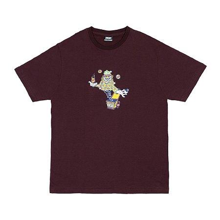 Camiseta High Clown Bordo