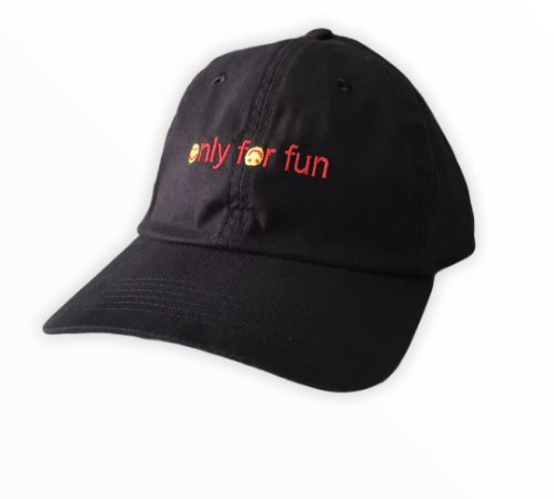 Bone Mess Smile For Fun Dad Hat Strapback Preto