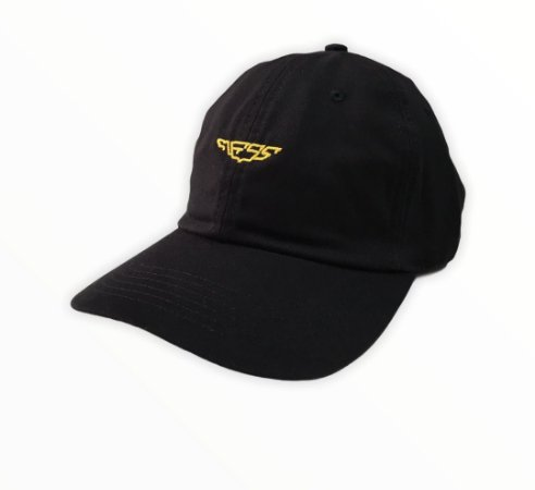 Bone Mess Wings Dad Hat Preto