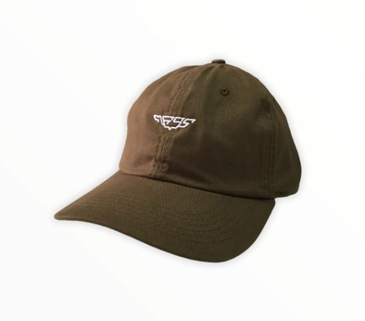 Bone Mess Wings Dad Hat Verde Militar