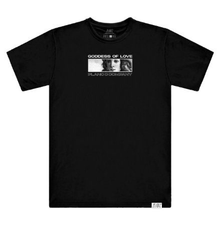Camiseta Plano C G.O.L Preta