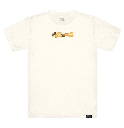 Camiseta Plano C Giz De Cera Branca