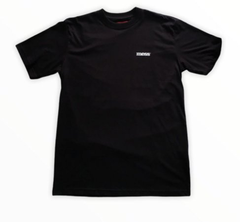 Camiseta Mess Mini Base Preta