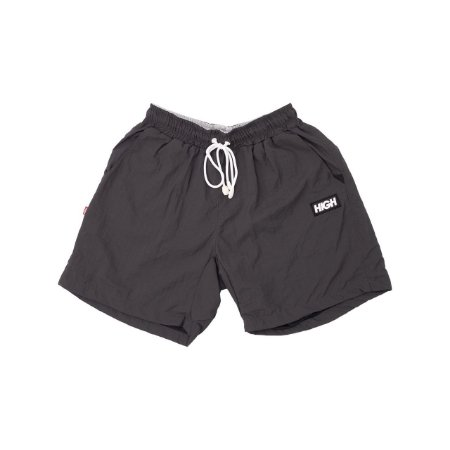 Shorts High Colored Cinza