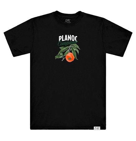 Camiseta Plano C Peach Preta