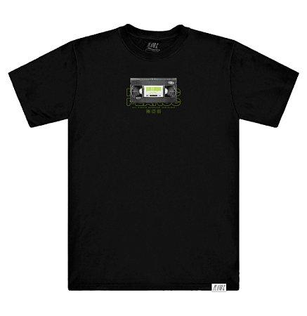 Camiseta Plano C Vhs Preta
