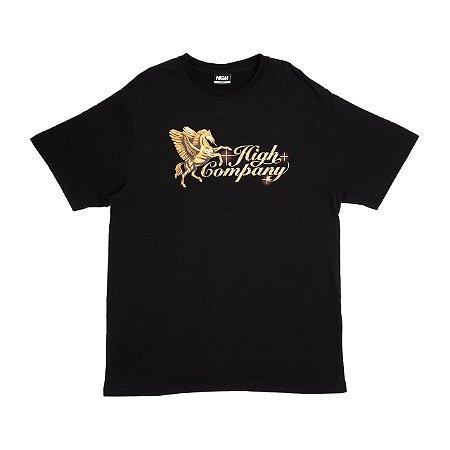 Camiseta High Pegasus Preta