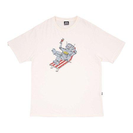 Camiseta High Robot Branca