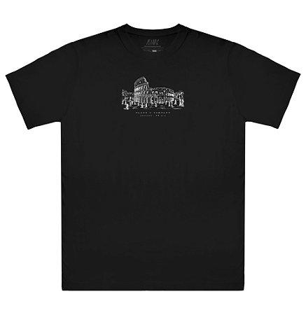 Camiseta Plano C Coliseu Preta