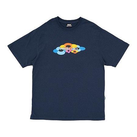 Camiseta High Flow Azul Marinho