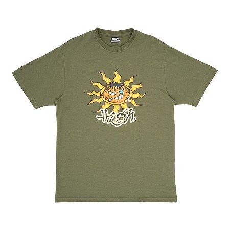 Camiseta High Junglist Verde Escuro