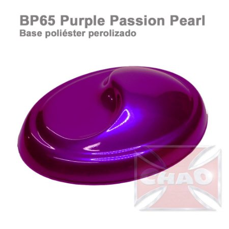 Purple Passiom poliéster perolizada